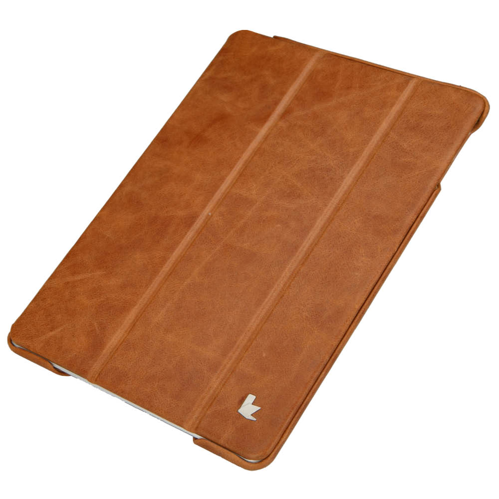 Leather cases for ipad Air 2 Top genuine leather and stand function case luxury