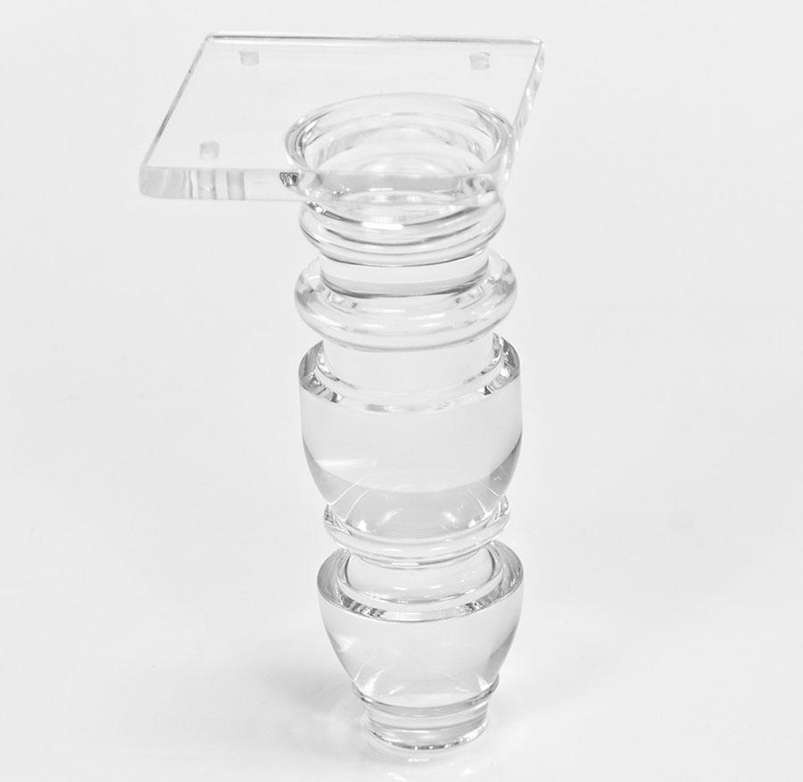 transparent acrylic furniture leg transparent acrylic furniture leg suppliers and manufacturers at alibabacom acrylic furniture legslucite table leghigh transparent
