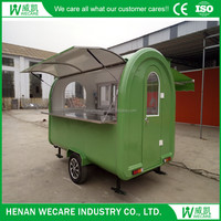 Spain Churros Large Mobile Food Trailer with fryer