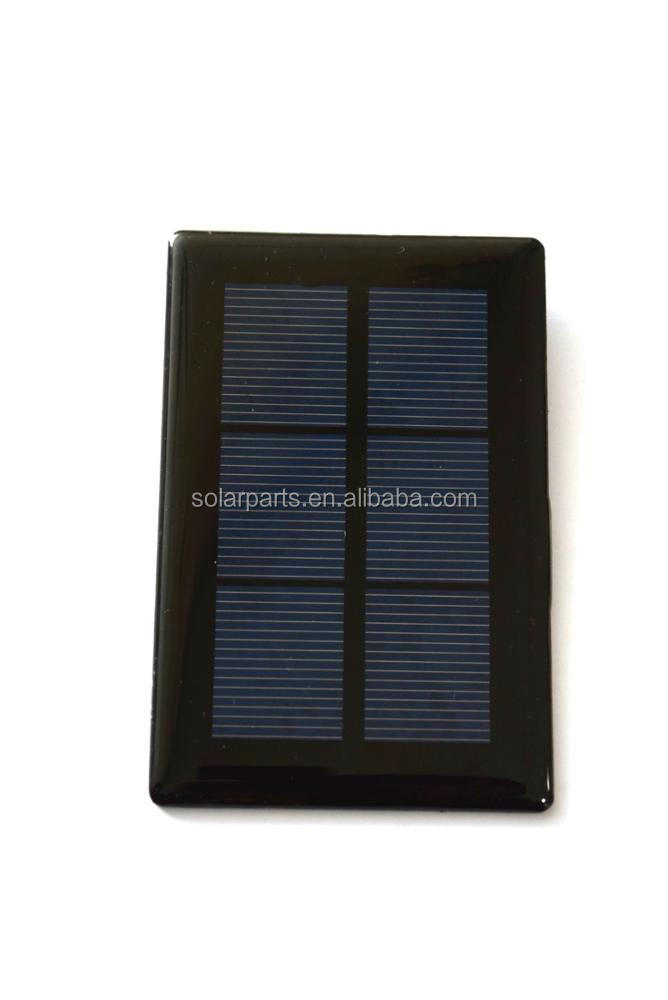Small solar panel Epoxy Resin mini Solar Modules for DIY solar kits,solar toys light led scientific educational solar cell