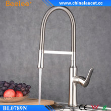 Beelee BL0789N Swivel Spout Single Hole Kitchen Faucet Pull Down Kitchen Sink Mixer Tap