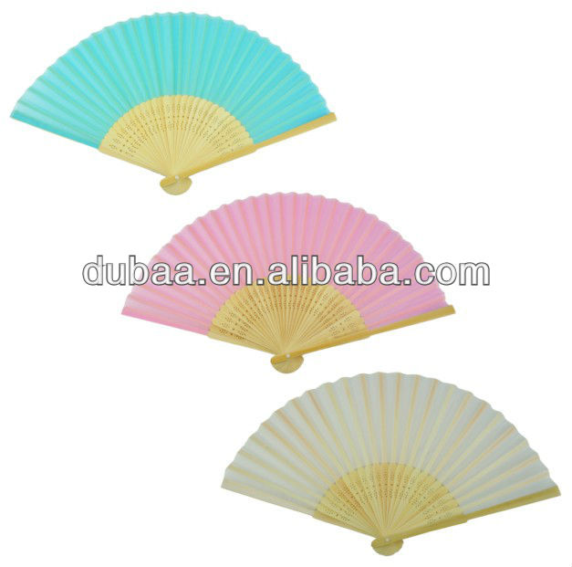 Best Seller 2014 Summer Foldable Promo Gifts Bamboo Hand Held Fans Hand Bamboo Fans