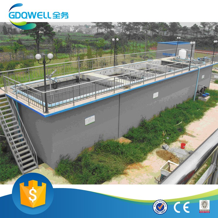 High Efficient Plant for Domestic Waste Water Treatment Factory Supply