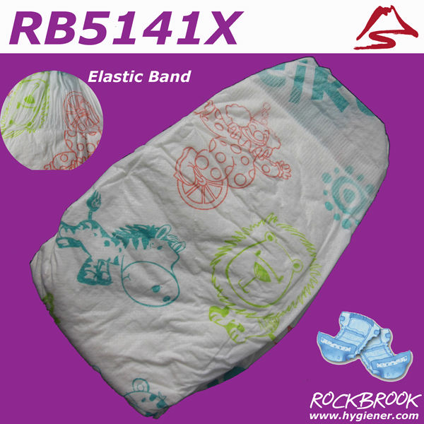 Cute Disposable Baby Diaper Wholesale USA, European Baby Diaper in Pallets