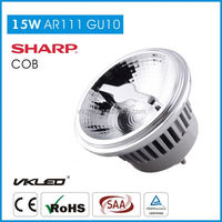 ce&rohs coffee shop GU10 led lamps ar111