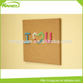 Factory Direct Sale home decoration custom cork board wall