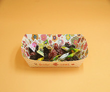 Disposable paper boat tray