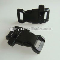 1/2'' Curved Plastic Side Release Clip Buckle with Whistle