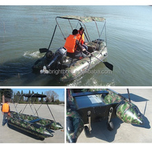 (CE)china 6ft-14ft PVC camouflage inflatable boat for sale