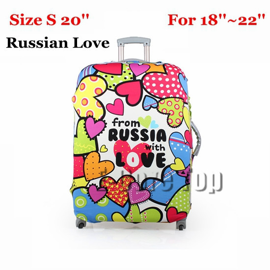 Travel Luggage Protective Suitcase Cover Luggage Cover Apply To 18~30 Inch Case Excellent Elastic