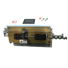 Automatic outer cable and inner wire cutting and stripping machine
