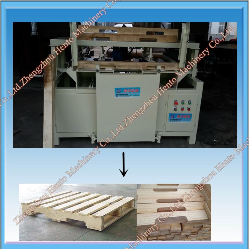 Wood Pallet Notching Machine With Easy To Operation
