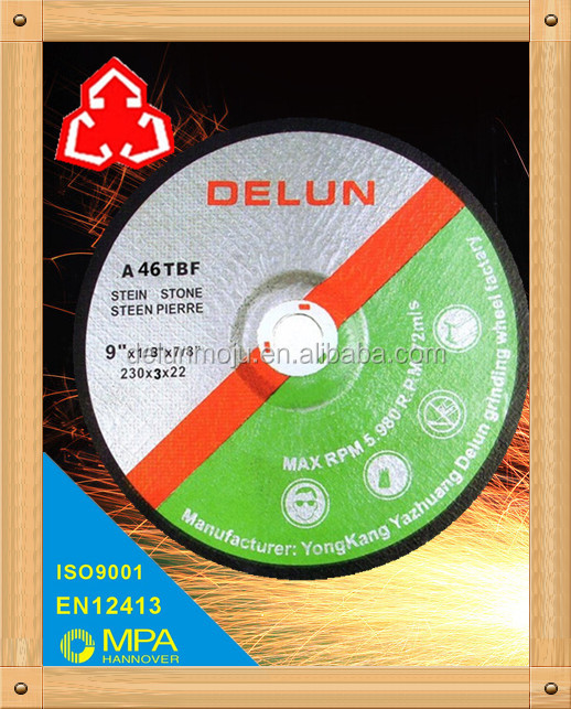 "T27 230mm 9"" hot sale xtra power cut off wheel manufacture"