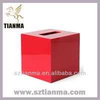 Wholesale acrylic donation boxes