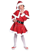A Sexy Red Christmas Santa Claus Girl Dress Costume Santa Claus Costume For Adult