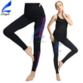 Color Spliced Women Gym Fitness Yoga Pants Sports Trousers