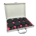New fashion design massage hot stones for body Spa beauty 16pcs per set with heating box