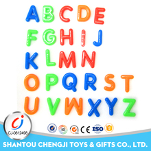 Top quality cheap small toy for children gift alphabet letters plastic