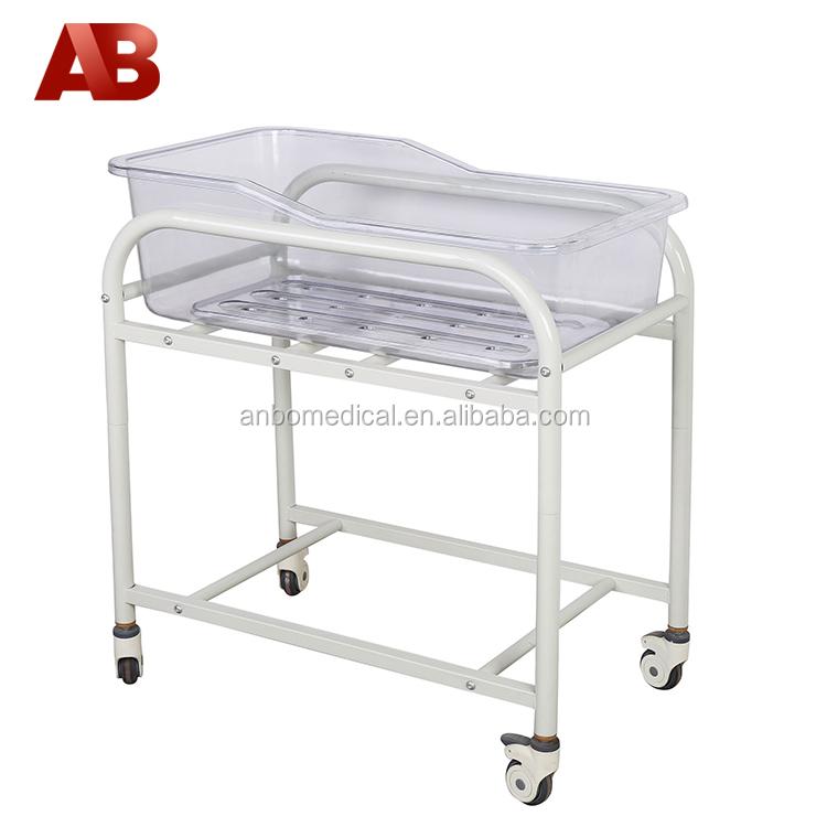 Steel Frame Hospital Baby Crib Wtih Trendelenburg Position - Buy ...