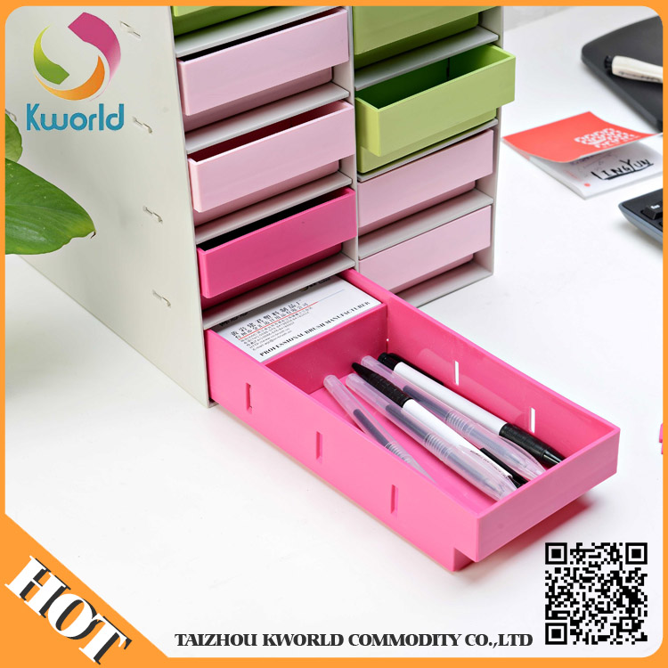 Custom High Quality Plastic Storage Drawer Multi-Drawer