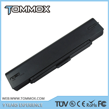 New 11.1v 4800mah 6cells notebook battery for sony VGP-BPS9/B VGP-BPS9/S VGN-NR