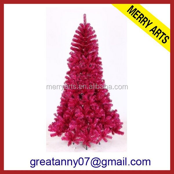 2016 artificial decoration red christmas tree for sale for Christmas decoration sales 2016
