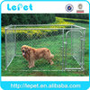 high quality large outdoor Chain Link Boxed dog Kennel DIY dog Boxed Kennel
