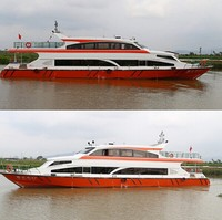 26.8m/80-100Passenger high speed ship/ Fiberglass passenger boat for Sale