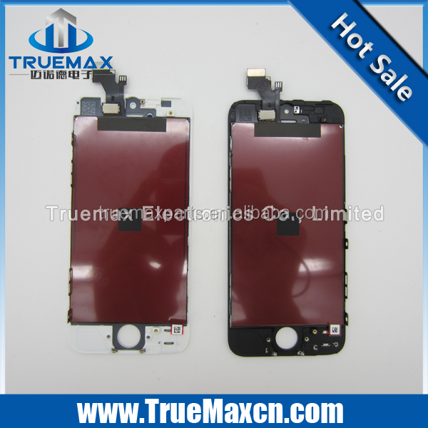 Repair Parts For Apple iPhone 5 LCD Screen and Digitizer Assembly with Frame Replacement
