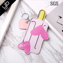 Hot selling cute icecream keychain latest design custom ladies coin purse wallet with zip