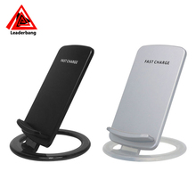 Electric Type and Mobile Phone Use qi wireless desktop fast charger phone holder