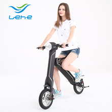 Battery Powered electric Folding trial order motorcycle from Lehe