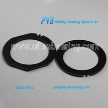 PTFE coated steel backing washer,Teflon bronze pad,sf-1 oiless plate