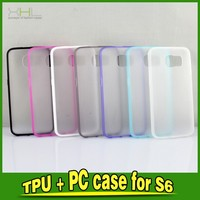 Cell Phone TPU PC Protective Cases Covers For Samsung Galaxy S6