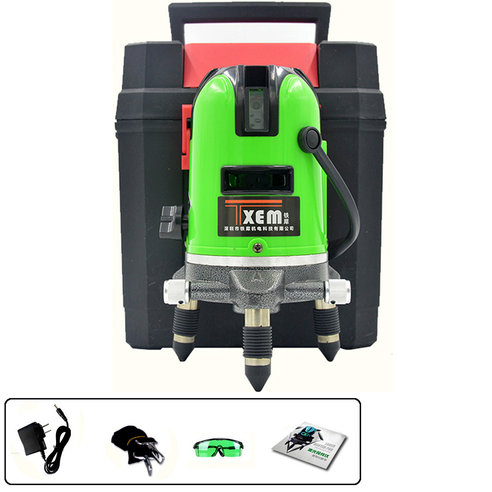 FS2-G2016 green cheap laser level With measuring tape