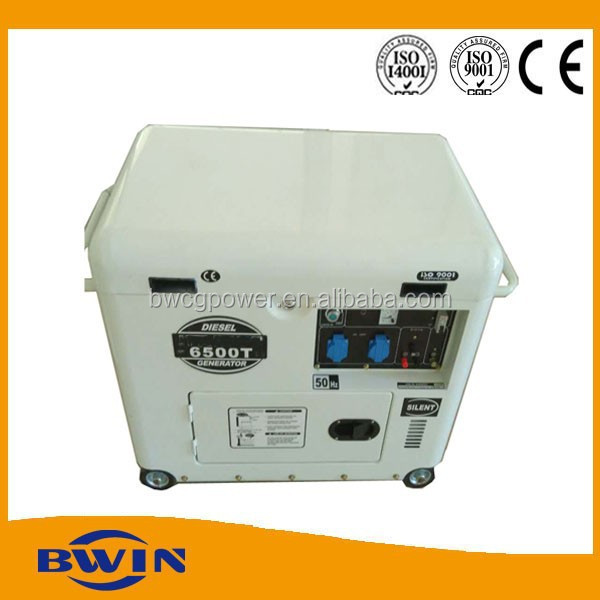 NEW design Electric start generator portable 5000w diesel power