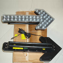 truck mounted directional arrow light for traffic warning