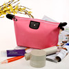 Candy color makeup waterproof nylon bag hipster zipper mini women cosmetic make up bag