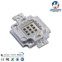 GH White Square Frame High Power IR Infrared Laser LED Module 10W 740 850 940 nm