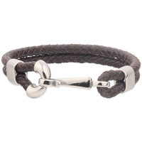 Unisex Custom Logo Spanish Leather Bracelets