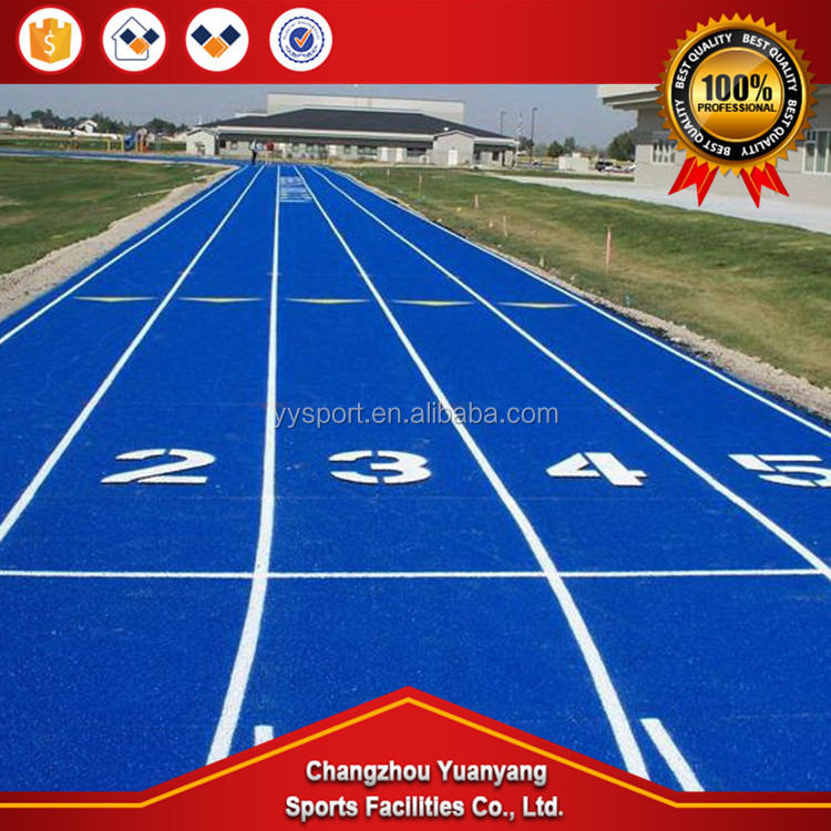 Hot selling 13mm synthetic rubber material for running track material