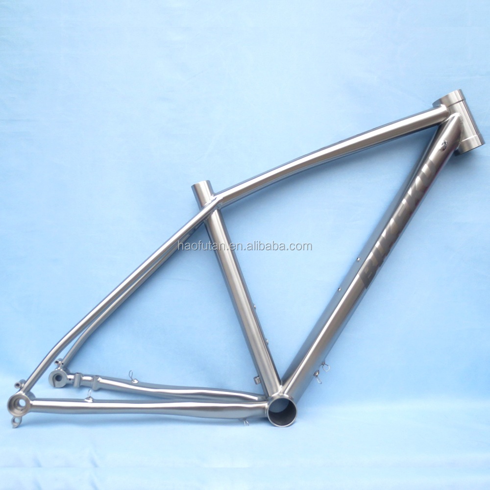 Cyclocross bike titanium road bike frame 700C disc-HFT-R33 with hydraulic disc brake
