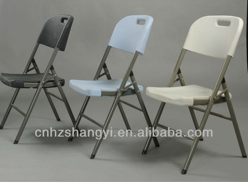 Plastic folding restaurant dining chairs