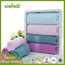 Wholesale China Supplier Thicken Solid Color Jacquard 100% Cotton Hotel Face Towel