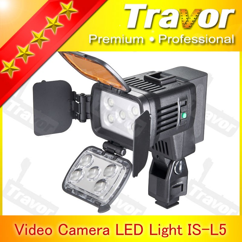 Professional With 5pcs LED led video light VL002B(LED-900) photography studio equipment