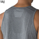 OEM Men Muscle Singlet Plain Gym Tank Top Training Gym Shirt For Men