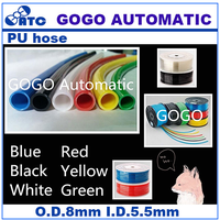 GOGO ATC Outside diameter 8mm inside diameter 5.5mm PU8*5.5 100m pu hose 8mm pneumatic pipe air tubing polyurethane tube