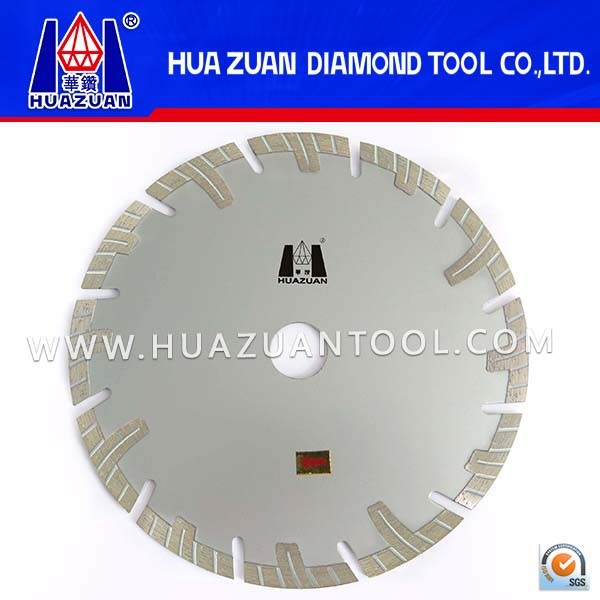 Special Deep Tooth Diamond Saw Blade with Protection Segmentes For Granite