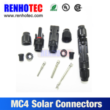 solar power system pv connector mc4 solar cable