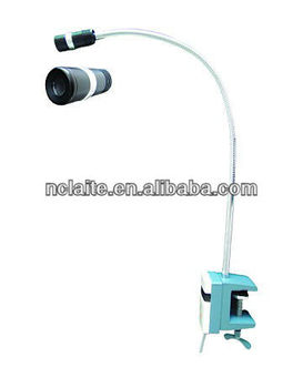 Clip on table /bed type examination light 5W LED lamp for ENT surgery